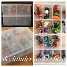 skylander bedroom 2x large tackle boxes 9 from kmart as skylanders storage with 2