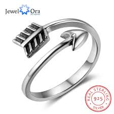sted rings new women solid 925 sterling silver rings cupid arrow ring shape