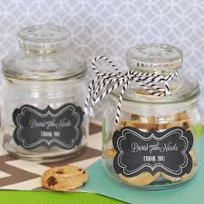 jar party favors personalized mini cookie jars for favors