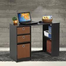 Espresso Desk With Hutch Furinno Jaya Espresso Desk 15110exbr The Home Depot