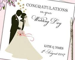 wedding day congratulations premium handmade card wedding day congratulations best