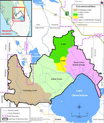 Florida Toll Road Map by Lake Okeechobee Watershed Project