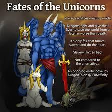 fates of the unicorns by masterdragontalon on deviantart