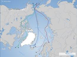 North East Map Russians Prove North East Passage Is Viable Route To Asia Steel