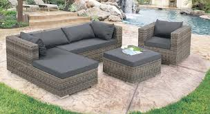 Gray Wicker Patio Furniture - outdoor wicker patio furniture clearance and sectional atme