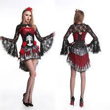 Dead Halloween Costumes Ladies Dead Costume Fancy Dress Skeleton Bride