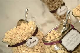 Garretts Popcorn Wedding Favors by Bridal Banter Wedding Late Snack Ideas A Popcorn Bar