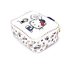 kitty small travel pouch big adventure sanrio
