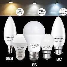 3W 5W 7W 12W E27 E14 B22 25W 40W 60W 100W LED Globe GLS Bulbs