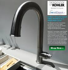 Kohler Touch Kitchen Faucet Sensate Faucets Taking Touchless To A Whole New Level For