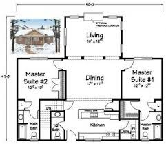 home plans with in suites lovely 2 bedroom house plans with 2 master suites new home plans