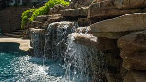 water features pool waterfalls u0026 water features st louis poynter landscape