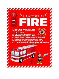how to design a fire safety poster tutorial vectorvice blog