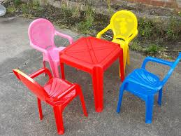 kids plastic table and chairs funky buys set of childrens kids plastic table and chairs