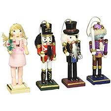 nutcracker ornaments nutcracker ornaments wood handpainted assorted set