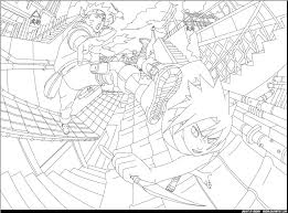 naruto shippuden coloring book coloring pages kids