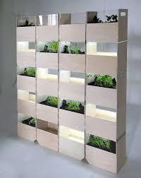 decorations flexible partition wall and indoor herb garden with