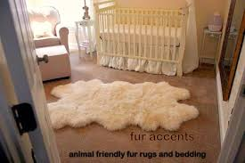 3x5 faux fur white sheepskin accent rug quatro new by fur accents