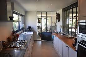 separation cuisine style atelier plan de interieur maison contemporaine moderne pour porte de placard