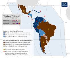 Latin America Map With Capitals by Latin America And The Caribbean Ilpi Weapons Of Mass Destruction
