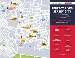 Map Of Jersey City Perfect Lives Jersey City