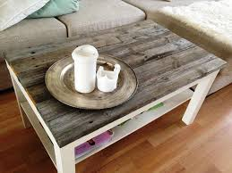 coffee table spray painted ikea vittsjo coffee table using a