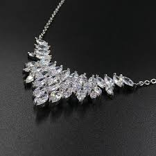 zircon necklace images Luxury zircon necklace pendant with earrings a stone appeal jpg