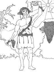 greek mythology colotring pages
