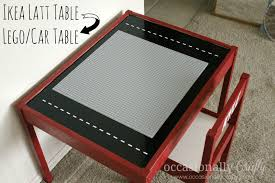 Lego Table With Storage For Older Kids Lego Table From An Ikea Latt Table Lego Table Lego And Craft