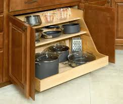 Organizing Pots And Pans In Kitchen Cabinets Kitchen Cabinets Kitchen Cabinets Organization Image Of