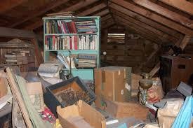 home inspection attic storage