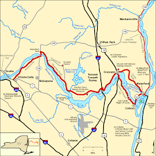americas byways mohawk towpath byway map america s byways