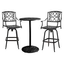Black And White Patio Furniture Outdoor Bar Sets Target