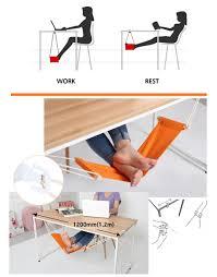 portable mini office foot rest stand desk feet hammock easy