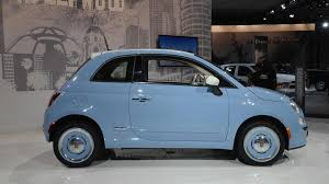 fiat 500 1957 edition shows its retro side in l a