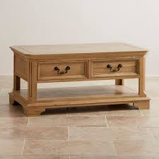 Solid Oak Coffee Table Coffee Tables Free Shipping Oak Furniture Land