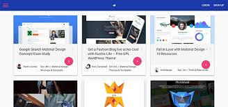 templates blogger material design 10 hottest web design trends you gotta know for 2017 wpmu dev