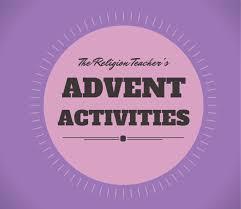 advent activities religion teacher catholic religious