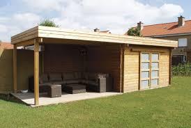 idee de jardin moderne emejing salon de jardin bois autoclave contemporary amazing