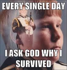 Clarinet Boy Meme Generator - you weren t there man you weren t there ptsd clarinet boy mad