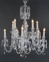 Antique Crystal Chandelier Branch Bohemian Antique Crystal Chandelier
