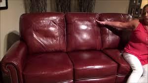 Lane Furniture Leather Reclining Sofa by Jasmine Sofa By Lane Furniture Youtube