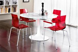 modern circular dining table modern round dining room table inspiring exemplary red dining tables