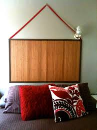 creative headboards with innovative simple hanger headboard with