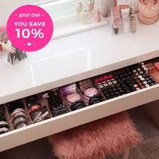 ikea makeup organizer tidyups my favourites