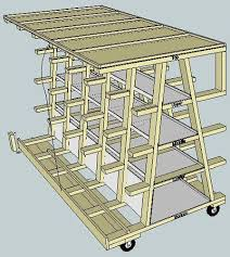 Wood Storage Rack Plans by Best 25 Wood Storage Rack Ideas On Pinterest Lumber Rack Wood