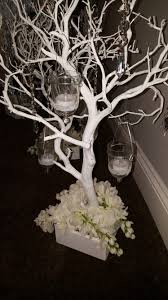 Manzanita Trees For Sale 24inch White Manzanita Trees With Candle Holders And