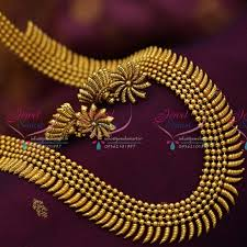 long gold beads necklace images Nl6541 beads design stylish long necklace antique dull gold JPG