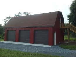 gambrel roof garages 3 car pole garage with gambrel roof customer projects september