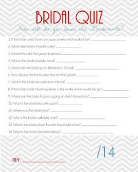 bridal shower question bridal shower questions kallen bridal